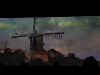 Ле Мулен де-Фин Blüte, 1886 по Vincent Van Gogh/Винсент ван Гог«Мельницы Монмартра »(1886)
