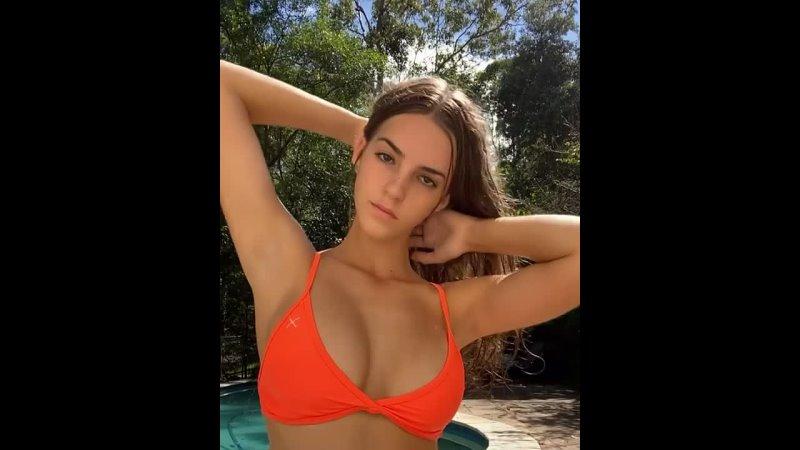 Australian model Emily Feld