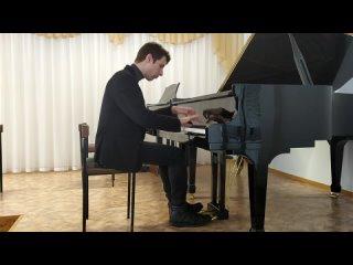 С.В.Рахманинов Этюд-картина a-moll ор.39 №6: Allegro (Серый волк и Красная Шапочка)