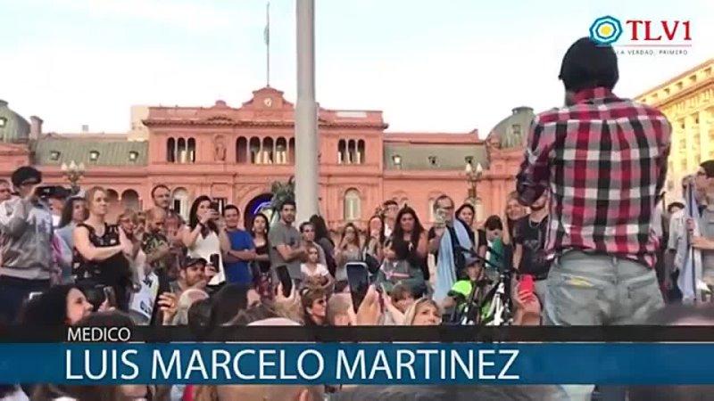 NO TENEMOS MIEDO DOCTOR LUIS MARCELO MARTINEZ