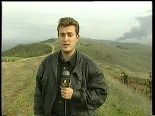 Репортаж военного корреспондента Ивана Коновалова с границы Чечни и Дагестана, октябрь 1999 года