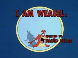 """Русская заставка """"I Am Weasel"""" (SD)"""