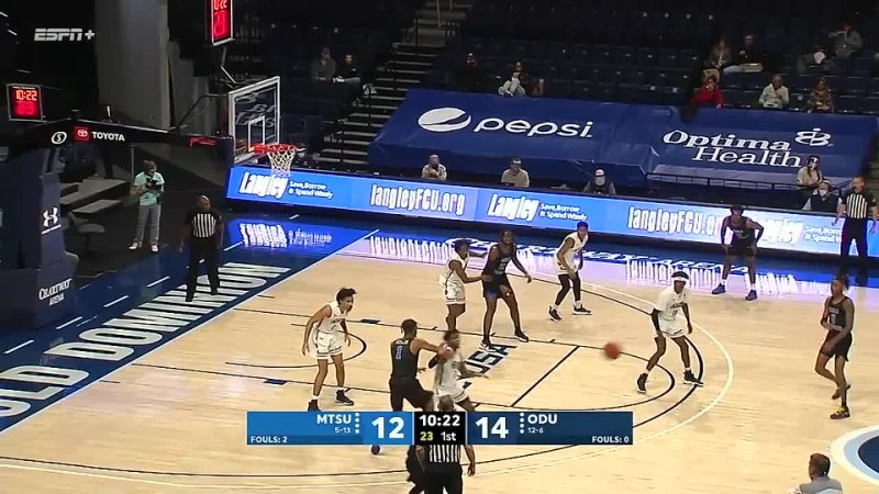 NCAAM 20210227 Middle Tennessee vs Old Dominion