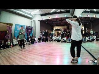 Hip-Hop Kids, Pro, 1/2, Галиева Алина vs Санкова Лера