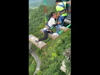 Страх над горами мост