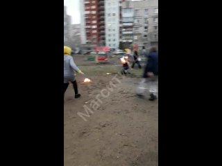 В Магнитогорске чуть не сгорел фаерщик во время Библионочи