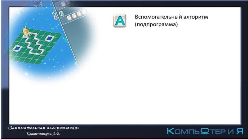 Квашенникова Делаем программу короче подпрограммы
