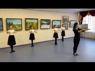Марийский народный танец, фрагмент