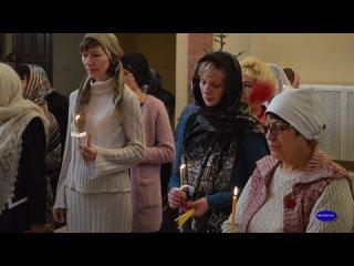 Хроника прихода январь 2016 год Молебен и Рождественская литургия