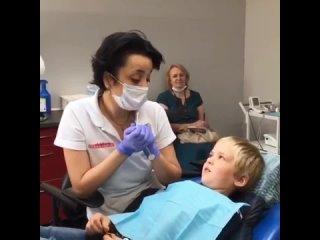 Общение с маленьким пациентом стоматологии Столица