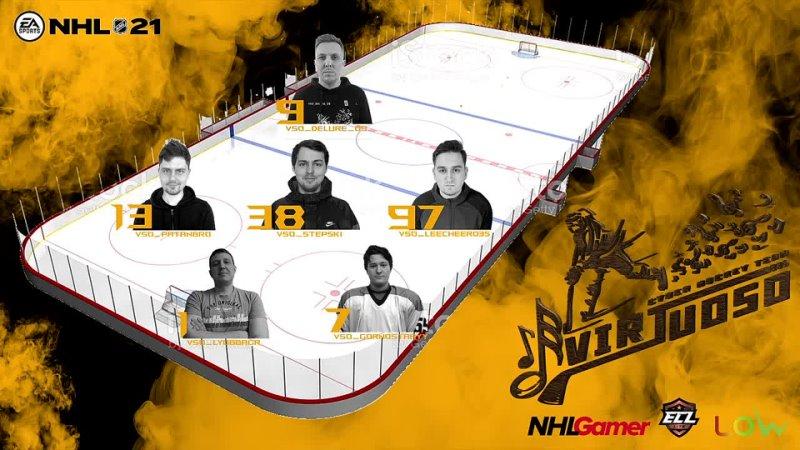 NHL 21 ECL 12 LITE QUALIFIER Virtuoso vs EHC BIEL BIENNE ESPORTS