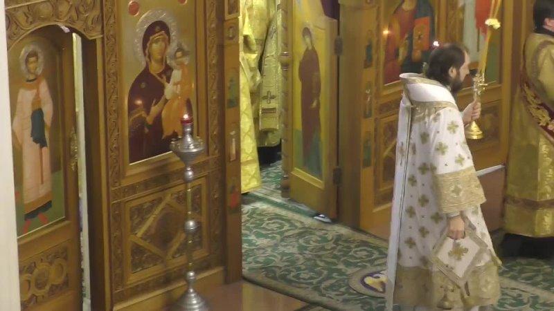 Торжество православия Храм ''Неопалимая купина ''