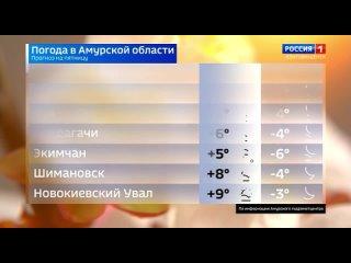 Прогноз погоды в Амурской области (Россия 1 - ГТРК «Амур» [ 6], , 21_1