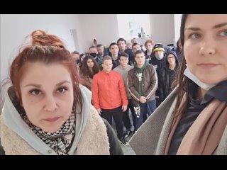 Задержанные в Колпинском УВД