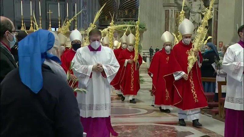 Католики отмечают Пальмовое воскресенье (28 мар. 2021 г.)