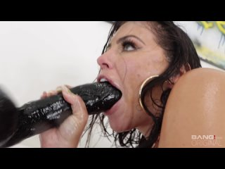 Adriana Chechik - Adriana Chechik Lets A Big Dick Stretch And Stuff Her Oily Holes - Anal, Deepthroat, Squirt, Porn, Порно, sex