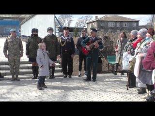 Песня Катюша. Автопробег Поздравь ветерана с Победой!