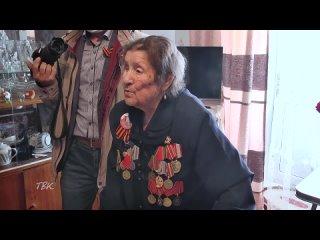 Областной депутат Александр Куприянец и глава Колпашевского района Андрей Медных навестили ветеранов Великой Отечественной