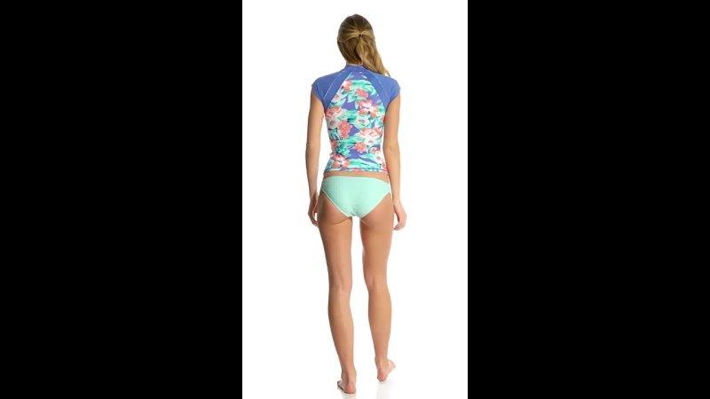 Rip Curl Swimwear Mia Flores S S Rashguard
