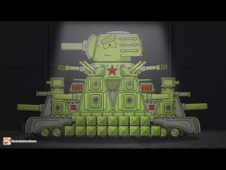 [HomeAnimations - Мультики про танки] История КВ-6 | Герои не умирают - Мультики про танки