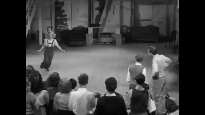 June Preisser Getting the kinks out in Babes In Arms 1939