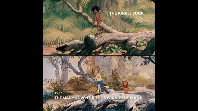 Книга джунглей vs Приключения Винни Пуха