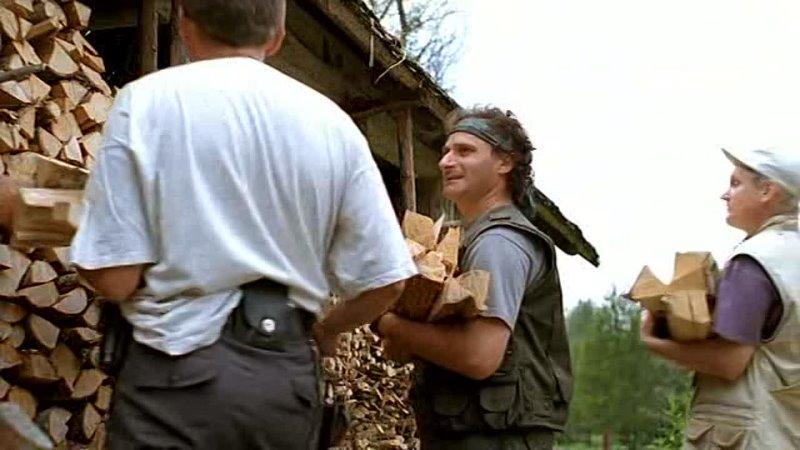 - Только начинается с колки дров. А заканчивается лесоповалом.