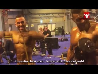 Huge Bodybuilder at only 24 years old - THE BIG BOSS
