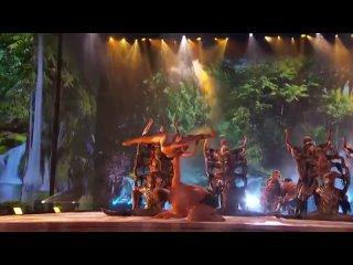 «Грехопадение». Австрийская акробатическая шоу-группа «Зуркаро».