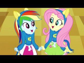 Kinderen voor Kinderen Bewegen is Gezond w/ Equestria Girls Cafeteria Song