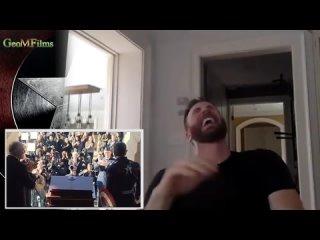 Крис Эванс смотрит на НОВОГО кэпа