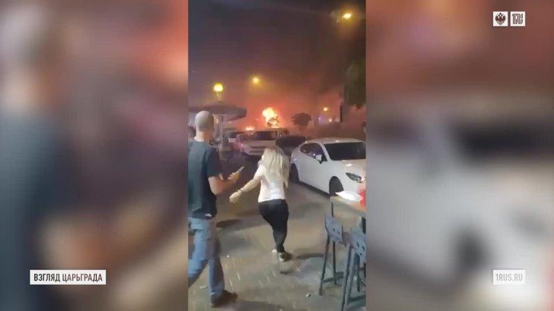 Светящие фонарики несущие смерть По Израилю бьют почти тысячей ракет гибнут жители