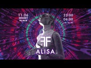 DJ ALISA @ FUSION FESTIVAL ПЕРМЬ