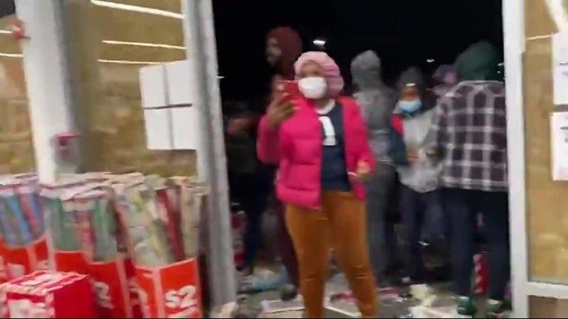Philadelphia Walmart looting 28 oct