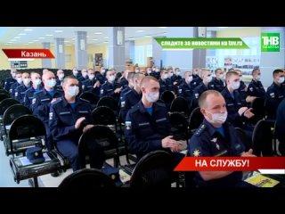 На военную службу в Пермский край отправились полсотни татарстанских призывников