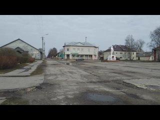 1.  г. Каргополь. Утро. Ивановская площадь