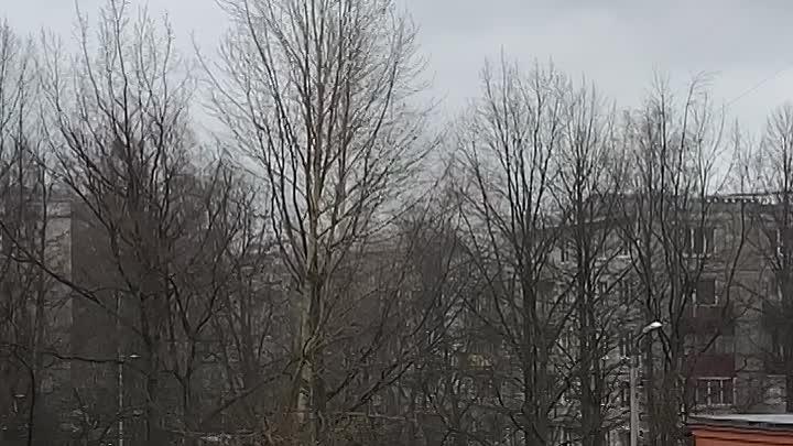 Горит квартира на 5-ом этаже. Проспект Юрия Гагарина, дом 26 корпус 4. В двухкомнатной отдельной к...
