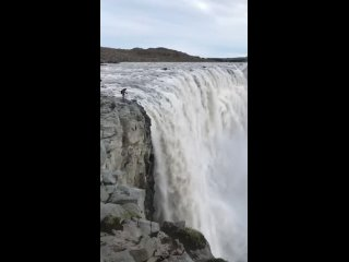 Prometheus waterfall P.S. Never get so close to the edge like the guy in this video ( @.mp4