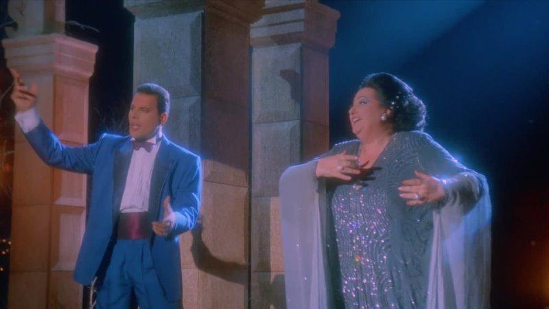 Freddie Mercury Montserrat Caballé - Barcelona (Original David Mallet Video 1987 Remastered)