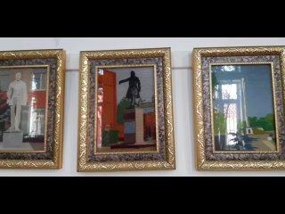 """Выставка работ кизлярских мастериц """" Памятники нашего города"""""""