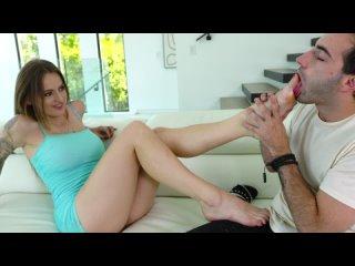 Hime Marie, Natasha Starr - His Girlfriend Is Such A Foot Slut [All Sex, Hardcore, Blowjob, Footfetish]