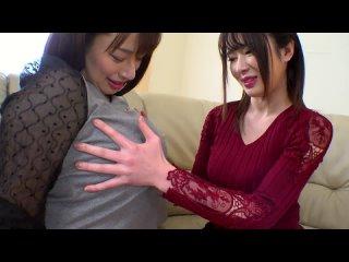 Haruna Hana, Tsujii Honoka - She Has A Crush On Honoka Tsujii And Hana Haruna Have Big Titty Lesbian Sex