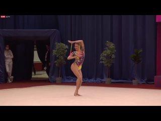 Анастасия Симакова - Булавы  Irina Deleanu Cup 2021