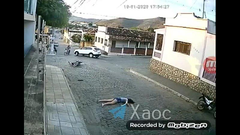 Бразильянка погибла влетев на своем байке в бочину легковушки