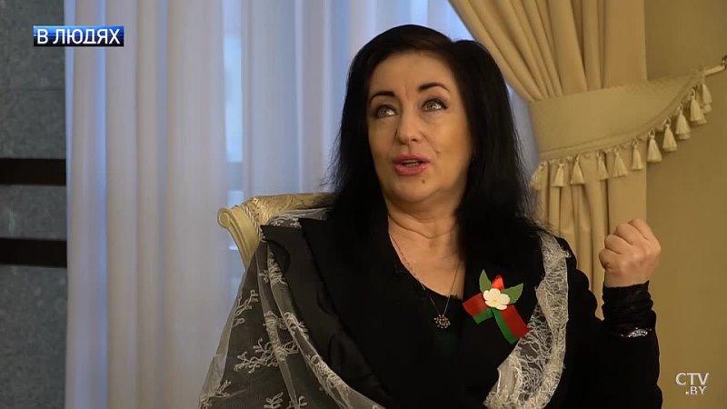 Тамара Гвердцители - Интервью ТВ-каналу СТВ (Минск), проект В людях (23 () апреля 2021 г.)