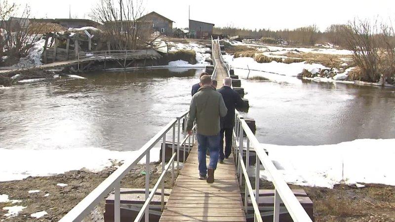 К паводку готовы Состояние киселевского гидроузла и понтонного моста в селе Филькино проверила межведомственная комиссия