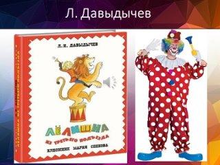 Книги для детей о цирке