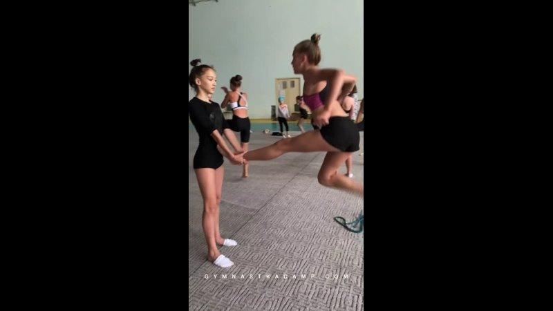 Художественная гимнастика спортивные сборы Gymnastkacamp