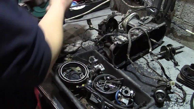 HONDA Gyro x большой ремонт