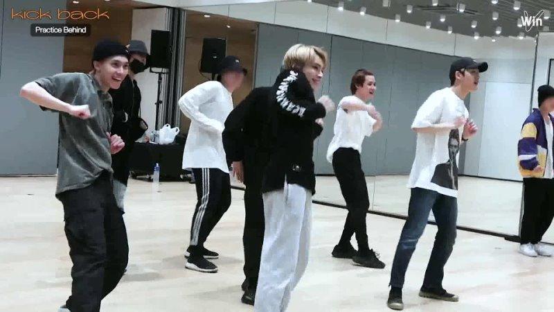 「 Рус Саб 」 210413 WayV ehind За кулисами съёмок танцевальной практики Kick Back